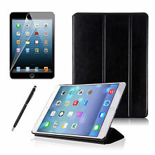 Flip Smart PU Leather Stand Case Cover For iPad 5+Screen Protector+Stylus