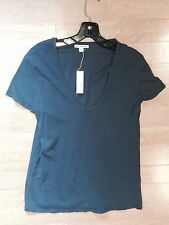 James Perse Casual T Marine Pretty Color NWT JP1-3 Buttery Soft Cotton Now $65