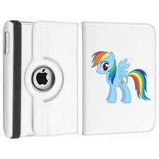 My Little Pony Rainbow Dash Rotating Birthday Gift Case Cover iPad mini 1 2 3