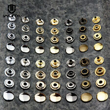 12.5mm Brass Snap Set Heavy Duty  Leather Craft Sewing Buttons Pack 20