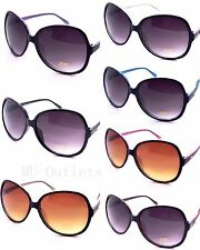 New DG Retro Vintage Large Oversized Womens Designer Sunglasses SHADES (419)
