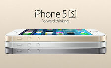 Apple iPhone 4G LET 5S 16GB 32GB 64GB GSM Factory Unlocked Smartphone