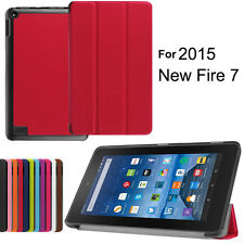 Slim Folding Folio Smart Shell Leather Case Cover Stand For Amazon Kindle Fire