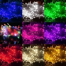 10M 100LED String Fairy Lights Indoor/Outdoor Xmas Christmas Wedding Party  TX