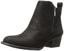 Jessica Simpson Delinda Black Leather Ankle Boot Basel Ankle Lucky Bootie
