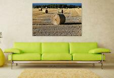 Stunning Poster Wall Art Decor Hay Bales Of Hay Hay Bales Farm 36x24 Inches