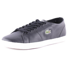 Lacoste Marcel Lcr Mens Trainers Black New Shoes