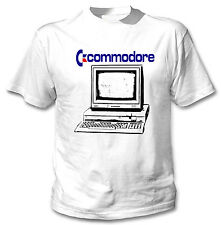 COMMODORE 128 VINTAGE COMPUTER - NEW AMAZING COTTON TSHIRT ALL SIZES AVAILABLE