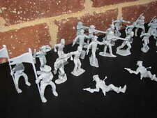 Marx Cavalry Pioneers Gray Confederate Civil War Fort Dearborn 45MM Toy Soldier