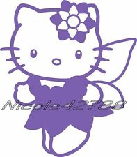 Vinyl Fairy Hello Kitty/Decal/ Sticker/Wall/Laptop/Tablet /Car Decal