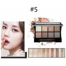 8 Colors Cosmetic Matte Eyeshadow Eye Shadow Makeup Palette Shimmer Set New