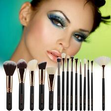 Pro 15Pcs Makeup Brush Cosmetic Tool Set Kit Cosmetic Make Up Beauty Brushes DX