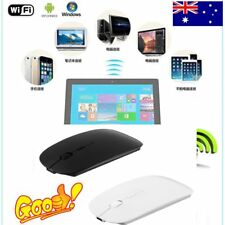 Portable Rechargeable Bluetooth 3.0 Wireless Mouse For Laptop PC Tablets LOT DX