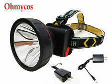 Rechargeable Hunting Headlight Best Camping Head Light Outdoor Torch