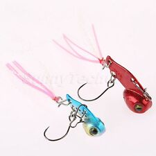 Lead Copper Alloy Mini Fishing Lure Minow Fishing Bait with Single Hook Sinking