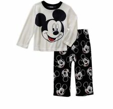 NWT-Mickey Mouse-Pajamas Toddler Boys' Fleece Pants-2 PC-Disney-3 & 4Toddler-NEW