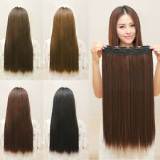 Wrap Around Ponytail Clip In on Hair Extensions real natural Long Pony tail UK