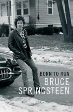 Born to Run by Bruce Springsteen (2016, Hardcover)