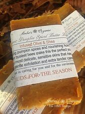 Organic Pumpkin Honey Bee Butter Spice Guest, Gift or Travel Mini Soap