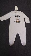 NWT NEW Gucci baby girls boys white holiday teddy romper footie 18/24m
