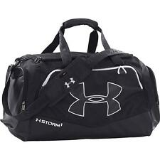 Under Armour Undeniable Team MD Duffel Bag, Black/White, One Size