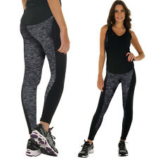 Womens Sport Yoga Running Pants Fitness Gym Clothes High Waist Jogging Trousers