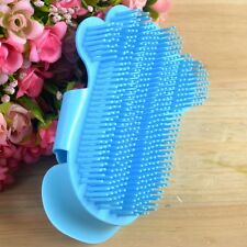 Pet Dog Cat Hair Fur Handle Shedding Trimmer Grooming Comb Blue/Red Brush Tool
