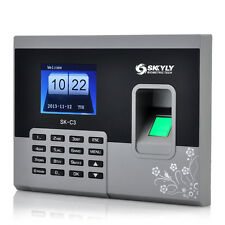 Biometric Fingerprint Time Attendance Security System, 2.8 Inch Display 320x240