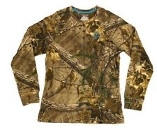 Realtree XTRA Women's/Ladies Camo Long Sleeve Thermal T-Shirts: S-2XL