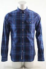 Superdry Washbasket Check Shirt Tylers Navy Various Sizes