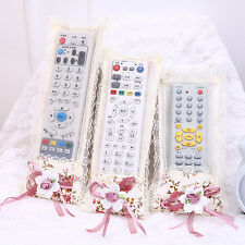 Durable Bowknot Lace Remote Control Dustproof Case Cover TV Control Protector GT