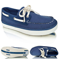 New Kids Boys Boat Deck Lace Up Loafers Casual Moccasins Party Shoes Pumps Size
