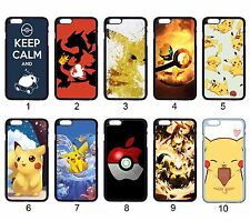 Pokemon Pikachu Charmander Snorlax For Apple iPhone iPod & Samsung Galaxy Case