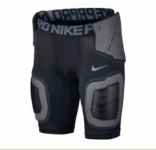 NIKE COMPRESSION SHORTS-PRO COMBAT- YOUTH-DRI-FIT-HARD SHELL-NWT-RETAIL $50
