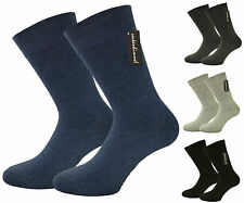 Business Socks for Mens - loose fit band - no pressure Marks - 12 Pairs 7-9 9-11