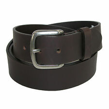 New Dickies Men's Leather 40mm Cut Edge Bridle Belt