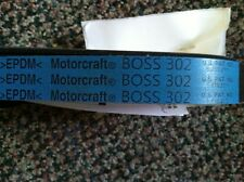 NOS NEW FORD 2012-2013 MUSTANG BOSS 302 SERPENTINE FEAD BELT -- LETTERED