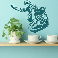 Roller Blading - Sport Wall Transfer / Huge Home Art / Sport Wall Sticker sp27