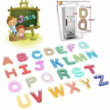 Letters Kids Educational Preschool Spelling Alphabet Fridge Magnetic Sticker