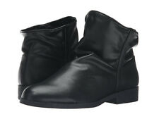 LFL by Lust For Life Roxanne Black Nappa Flat Slouchy Comfortable Ankle Boot
