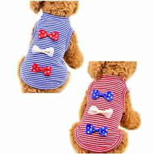 Pet Puppy Small Dog Cat Summer Clothes Dress Vest T Shirt Apparel Clothes Tops
