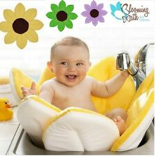 Baby Blooming Bath Petals Washcloths Babies Infant Flower Cushion Lotus 7 colors