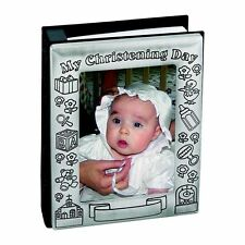 Personalized Baby Baptism Photo Album:  Personalize this Christening Gift
