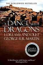 A Dance with Dragons: Part 1 Dreams and Dust by George R. R. Martin (Paperback,…
