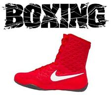 Nike KO Boxing Boots Shoes Boxer Fighter Boxschuhe Red/White (600) Boxstiefel