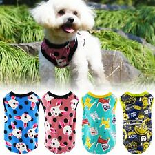 Pet Puppy Pet Summer Clothes Small Dog Cat Vest T Shirt Apparel Clothes XS-XL