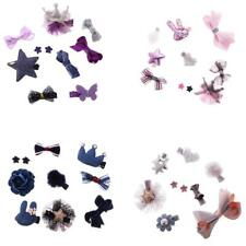 Newborn Baby Girl Hair Bow Mixed Design Cute Toddler Hair Clips Set Baby Shower