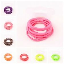 10X Baby Kid Girl Bobble Elastic Hair Band Accessory Ponytail Holder Head Rope