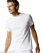 Hanes Mens Tagless CrewNeck ComfortSoft® Cotton White T-shirt Printable S M L XL