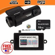 BlackVue Dash Cam DR650S-1CH HD 1080p Wide Angle with SD Card / Power Magic Pro